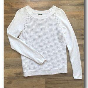 J. Crew Waffle Knit Sweater